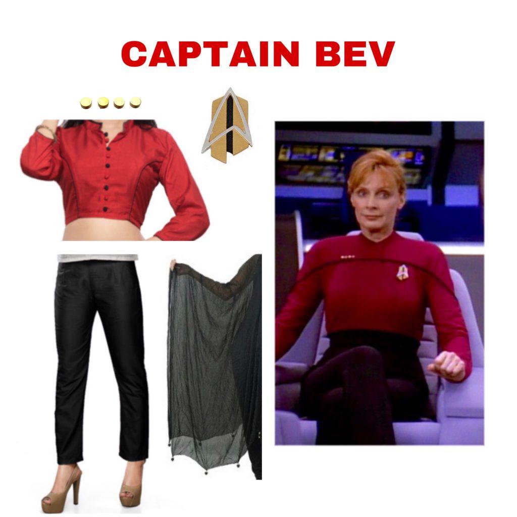 Captain Bev Cosplay