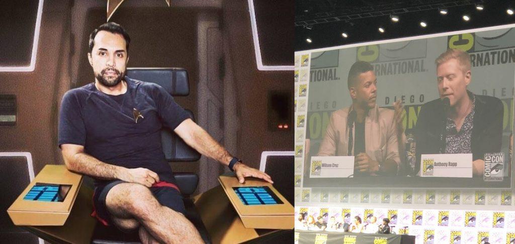 Star Trek Comic Con Past