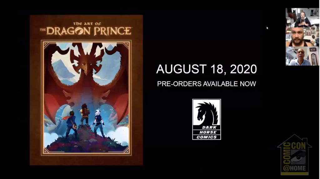 The Dragon Prince Art Book