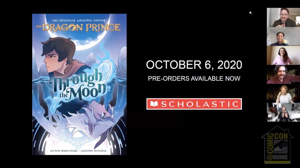 The Dragon Prince Graphic Novel