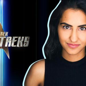 """Amrit Kaur stars in the Short Trek """"Ask Not."""""""