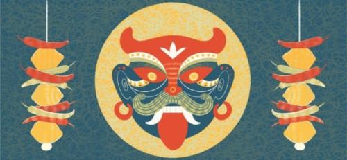 Nazar or the Evil Eye from South Asian Mythology.