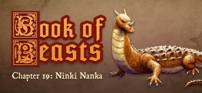 Book of Beasts – Ninki Nanka